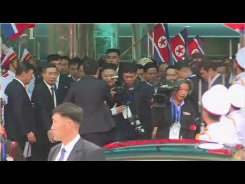 Chủ tịch Triều Tiên Kim Jong-un tới Việt Nam - Thời lượng: 83 giây.