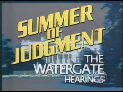 Summer of Judgment: The Watergate Hearings Pt. 1