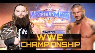 Nonton Randy Orton Vs Bray Wyatt Full Match   Wwe Wrestlemania 33 Full Show  Wwe Championship Match Film Subtitle Indonesia Streaming Movie Download