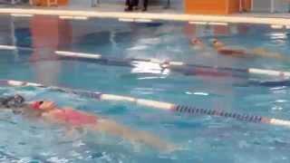 Соревнования по прикладному плаванию 2015 (видео №6)