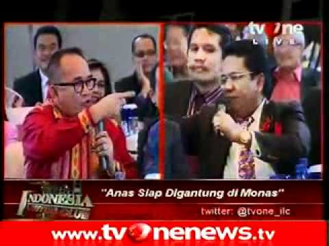 Ruhut vs Hotman (indonesia lawyers club)