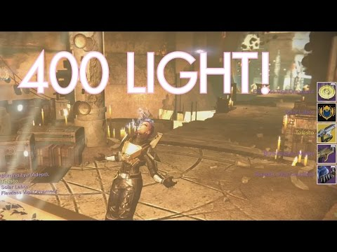 0 to 400 light | DESTINY POWERLEVEL | Age of Triumph