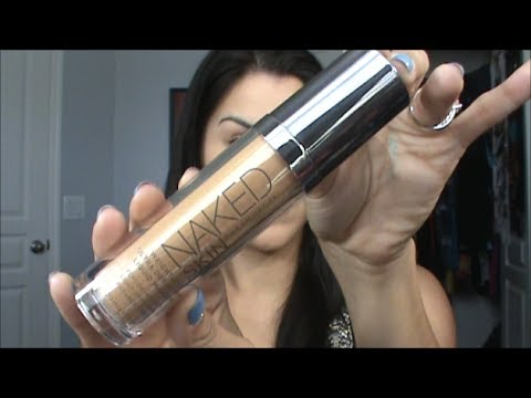Urban Decay Naked Skin Foundation Review and Demo
