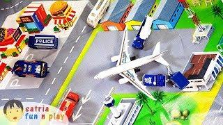 Download Video Bandara Pesawat Terbang Mainan Diorama Satria Fun n Play MP3 3GP MP4