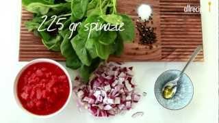 Rode linzensoep met spinazie