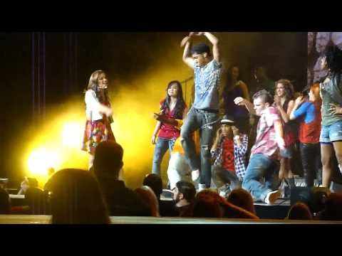 Cast Of Camp Rock It's On LIVE HD