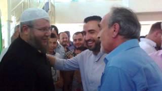 Bllokohet komunikacioni pas ardhjes së Hoxhë Irfan Salihut në Shkup