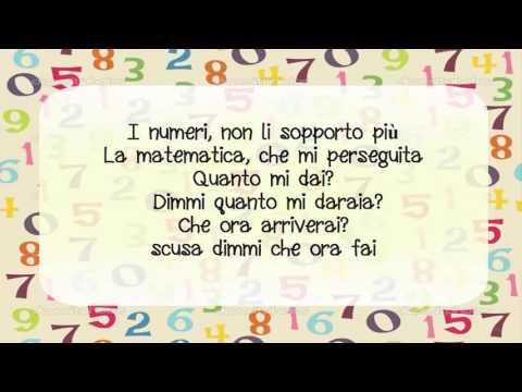 , title : 'Jovanotti -  Il Numeri CON LETTERE (ITALIANO)'