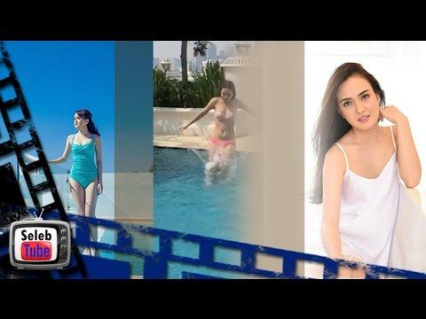 gratis download video - Penampakan-Shandy-Aulia-Nyaris-Bugil-di-Kolam-Renang