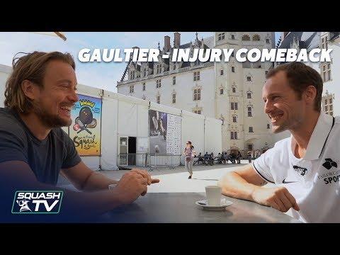 Squash: Greg Gaultier - Injury Comeback