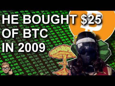 HE BOUGHT BTC IN 2009 | THIS IS HIM NOW