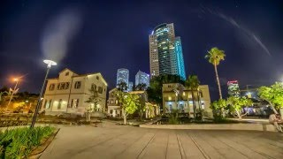 Tel Aviv Israel  city photos : Tel Aviv (Israel) by night! - Quality 4K