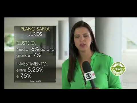 Globo Rural: Plano Safra 18/19 vai liberar mais de R$ 190 bilhões
