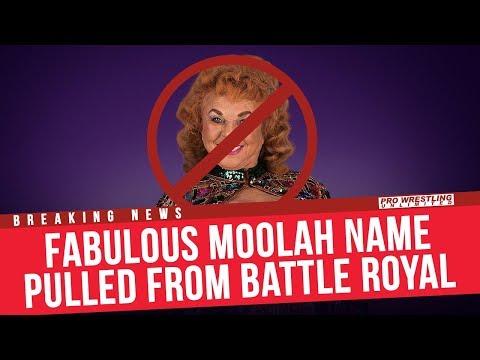 BREAKING NEWS: Fabulous Moolah's Name Removed From Women's Battle Royal