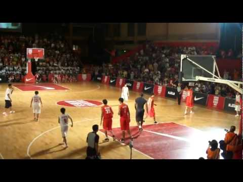 Lebron James Gets Dunked On By A Chinese Basketball Player  In Taiwan!