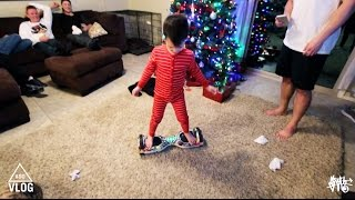 Youngest Kid To Ride Hoverboard