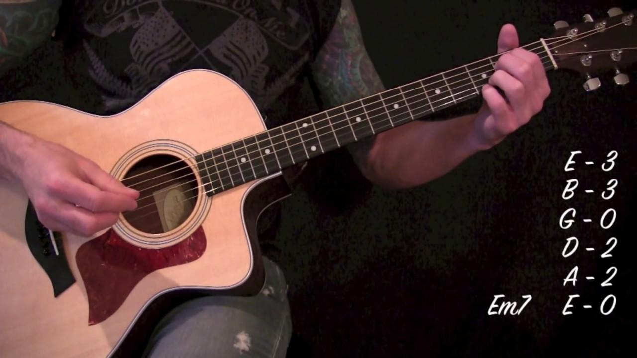 Stone Temple Pilots – Creep – Acoustic Guitar Lesson