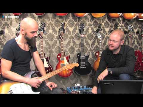 "Mika Vandborg (Electric Guitars) demoes his ""House Burning Down"" TonePrint (DK Version)"