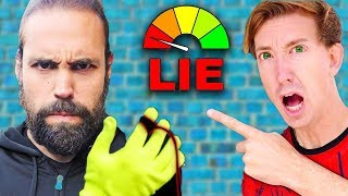 CHAD WILD CLAY DOES LIE DETECTOR TEST ON JUSTIN / PZ9?! 😱 Project Zorgo News w VY QWAINT,CWC,DANIEL
