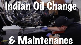 9. Indian Motorcycle Oil Change, Routine Maintenance, & Safety Inspection | A Complete Guide