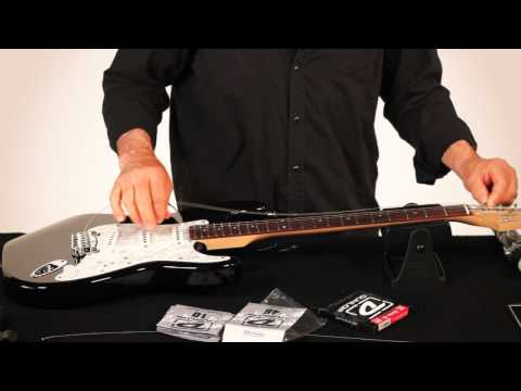 RESTRING: WITH GARY BRAWER – FENDER STYLE GUITAR