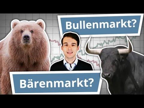 Bullenmarkt & Bärenmarkt einfach erklärt! (Hausse vs. Baisse) | Finanzlexikon