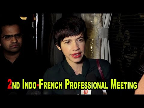 Kalki Koechlin At Indo French Professional Meetings of the Film & Telivision Industry