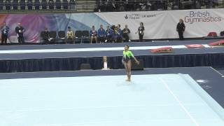 ELLIE DOWNIE - FLOOR - 2013 British Champs - AA
