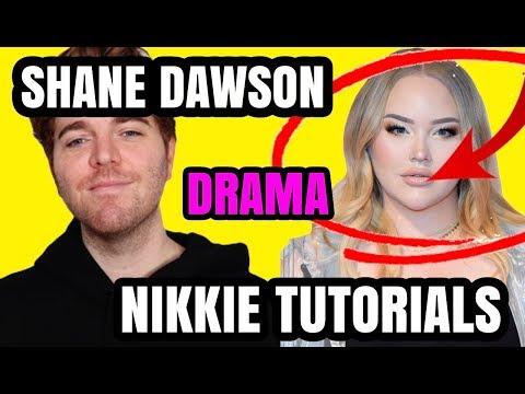 SHANE DAWSON TIK TOK & NIKKIE TUTORIALS ELLEN SHOW DRAMA