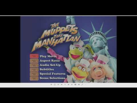 Opening To The Muppets Take Manhattan 2001 DVD