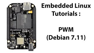 This video shows how to configure the pins on the BeagleBone Black as PWM pins to interface with the Buzzer on the BBB Learning Board. The Linux version being used in this video is Debian 7.11.Buy the board here:https://www.tindie.com/products/AllAboutEE/beaglebone-black-embedded-linux-learning-board/Sitara AM335x Technical Reference Manual:http://www.ti.com/product/AM3359/technicaldocuments