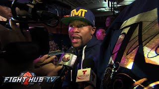 "Floyd Mayweather ""Khan's name holds no weight. My Focus is Manny Pacquiao!"""