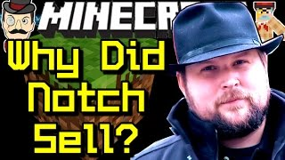 Minecraft News WHY DID NOTCH SELL?