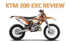 9. 2016 KTM 200 EXC REVIEW
