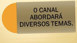 Apresentação oficial do SCI- SUPER CANAL INTERESSANTE OFICIAL.