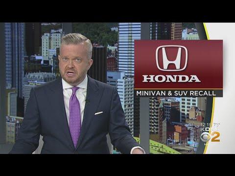 Honda Recalls 1.6M Vans, SUVs In 4 Different U.S. Recalls
