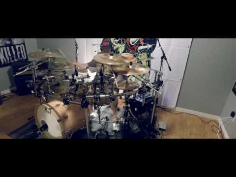 Banshee drum cover by Keith Zwicker of Archelon (видео)