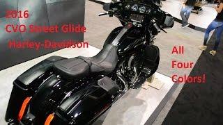 10. Harley-Davidson 2016 CVO Street Glide (FLHXSE)