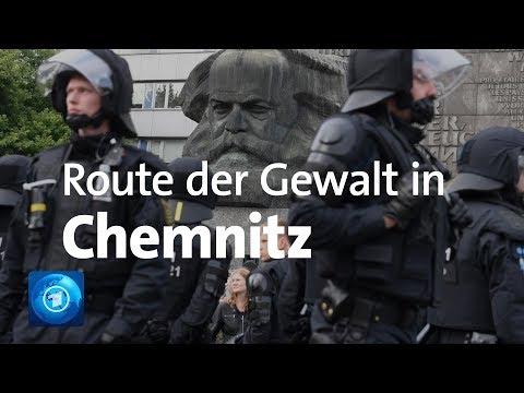 Ausschreitungen von Chemnitz: Der Weg der Gewalttäter