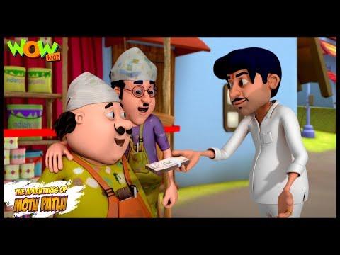 Motu Patlu Cartoons In Hindi | Animated cartoon | Mehnat ki kamayee | Wow Kidz
