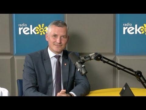 Wicemarszałek Mazowsza Rafał Rajkowski w Porannej Rozmowie Radia Rekord i Telewizji Dami.