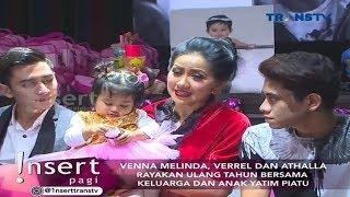 Video Kemeriahan Ulang Tahun Vania, Anak Venna Melinda | Insert Pagi (18 September 2017) MP3, 3GP, MP4, WEBM, AVI, FLV Desember 2018