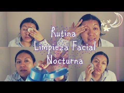 NUEVA rutina de limpieza facial (nocturna)