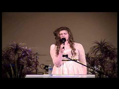 Norfolk Apostolic Church Ruth Papdopoulos Singing 04-28-13 P.M.