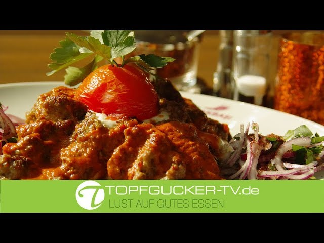 Adana Kebap - scharf gewürzter Lammhackspiess   Topfgucker-TV türkische Rezeptempfehlung