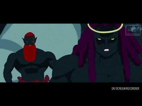 GOKU vs KING ATAMA! EMPEROR OF ABSALON! [REACTION]