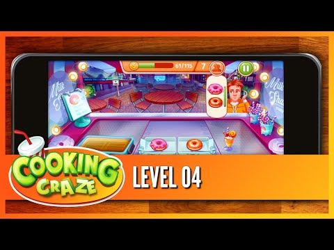 Cooking Craze - LEVEL 04 (Official) Gameplay Tutorial