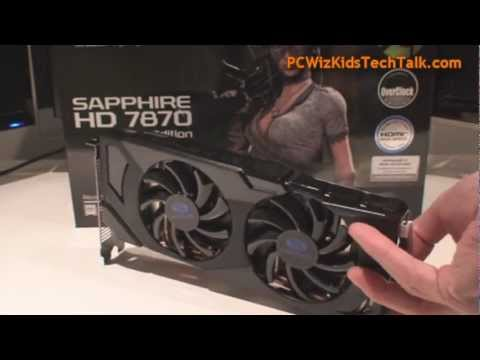 Sapphire HD 7870 GHz OC Edition 2GB Video Card Review & Benchmark Tests