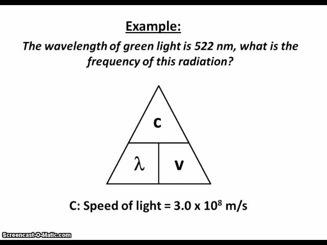 Wavelength And Frequency Equation Jennarocca – Wavelength and Frequency Worksheet
