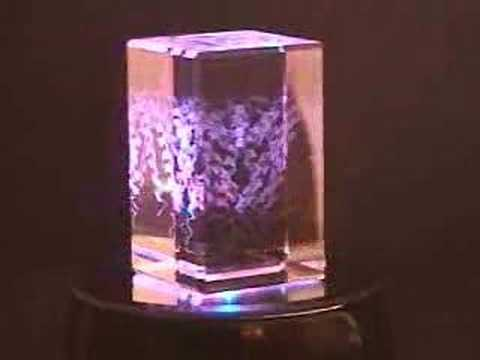 Ion Channel Etched Into Crystal